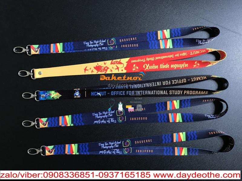 dây đeo thẻ sinh viên ĐH BK HCM