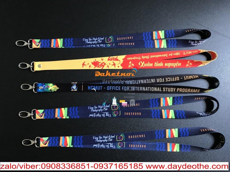 dây đeo thẻ học sinh PTTH TP VŨNG TÀU